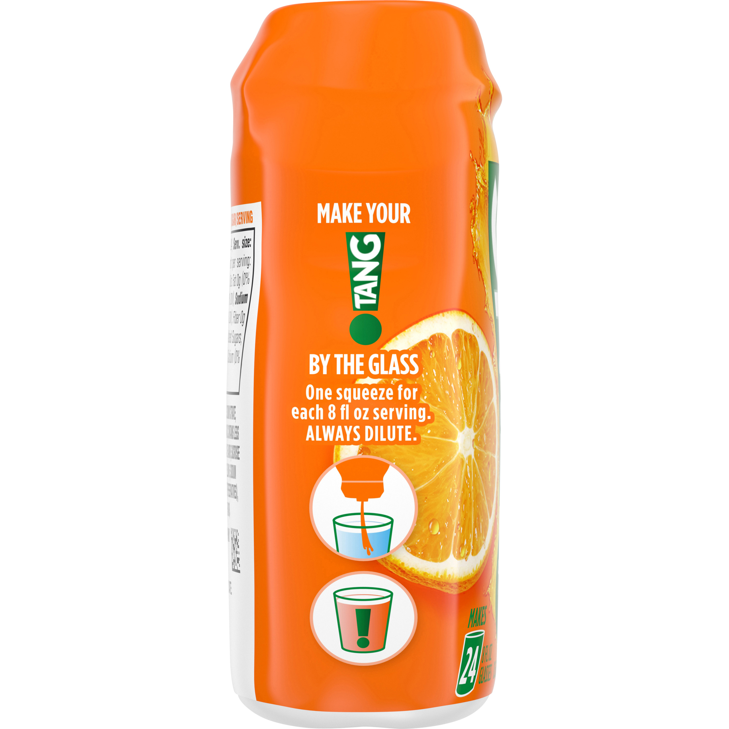 Tang Orange Liquid Concentrate Drink Mix 1.62 fl oz Bottle